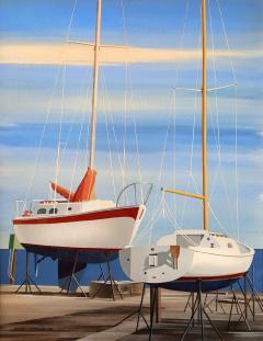 Edmund D Lewandowski Sail Boats - 456088