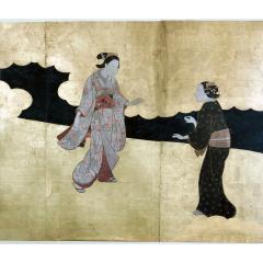 Edo Period Screen - 1006925