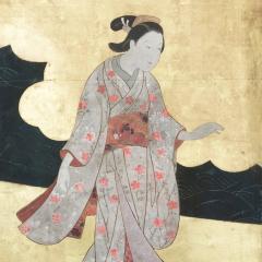 Edo Period Screen - 1006928