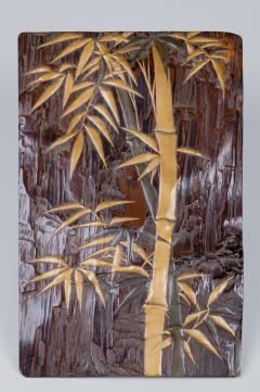 Edo Period Zitan Wood Suzuribako Writing Box  - 1631426