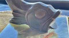 Edouard Marcel Sandoz Art Deco Bronze Sculpture of a Cubist Style Fish by Edouard Marcel Sandoz - 1748871