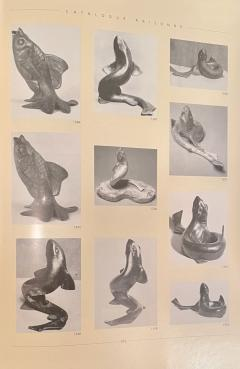 Edouard Marcel Sandoz Art Deco Bronze Sculpture of a Cubist Style Fish by Edouard Marcel Sandoz - 1748902