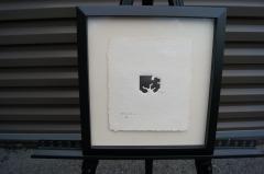 Eduardo Chillida Small Framed Abstract Print by Eduardo Chillida 21 50 - 718135