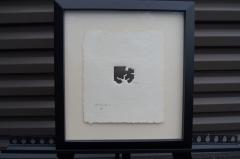 Eduardo Chillida Small Framed Abstract Print by Eduardo Chillida 21 50 - 718137