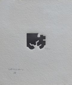 Eduardo Chillida Small Framed Abstract Print by Eduardo Chillida 21 50 - 754211