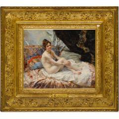 Eduardo Le n Garrido A Fine Spanish Boudoir Painting - 1441004
