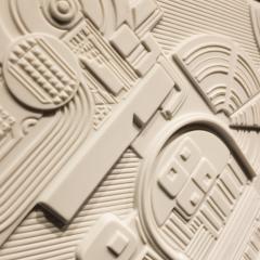 Eduardo Paolozzi Eduardo Paolozzi Plaque for Rosenthal - 762930