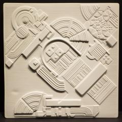 Eduardo Paolozzi Eduardo Paolozzi Plaque for Rosenthal - 762931