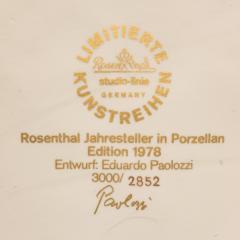 Eduardo Paolozzi Eduardo Paolozzi Plaque for Rosenthal - 762936