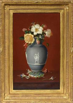Edward Leavitt Flowers in Clasical Urn  - 1864655