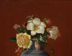 Edward Leavitt Flowers in Clasical Urn  - 1864657