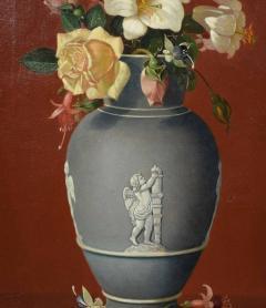 Edward Leavitt Flowers in Clasical Urn  - 1864659