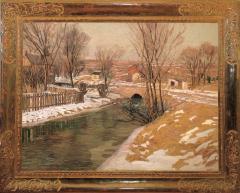 Edward Willis Redfield Melting Snow - 71255