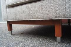 Edward Wormley Custom Daybed in the Style of Midcentury Dunbar - 1148596