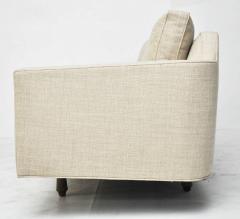 Edward Wormley Dunbar Curved Back Sofa by Edward Wormley - 451226