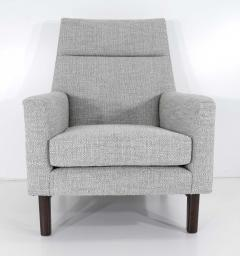 Edward Wormley Dunbar Lounge Chair in New Upholstery - 1146047