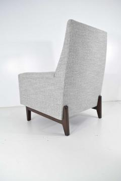 Edward Wormley Dunbar Lounge Chair in New Upholstery - 1146048