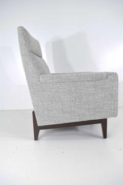 Edward Wormley Dunbar Lounge Chair in New Upholstery - 1146050