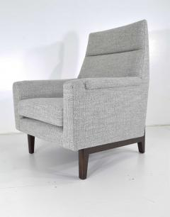 Edward Wormley Dunbar Lounge Chair in New Upholstery - 1146052