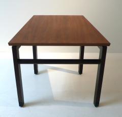 Edward Wormley Dunbar Wedge Table Wormley Mahogany Walnut 1960s - 285620