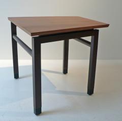 Edward Wormley Dunbar Wedge Table Wormley Mahogany Walnut 1960s - 285621