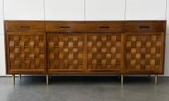 Edward Wormley Dunbar Woven Front Sideboard Cabinet by Edward Wormley - 1360153
