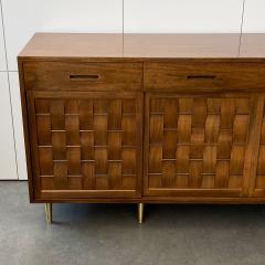 Edward Wormley Dunbar Woven Front Sideboard Cabinet by Edward Wormley - 1360157