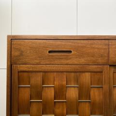 Edward Wormley Dunbar Woven Front Sideboard Cabinet by Edward Wormley - 1360173