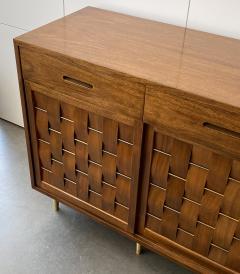 Edward Wormley Dunbar Woven Front Sideboard Cabinet by Edward Wormley - 1360220