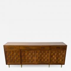 Edward Wormley Dunbar Woven Front Sideboard Cabinet by Edward Wormley - 1360883