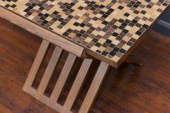 Edward Wormley Dunbar X Base Murano Tile Top Table - 351890
