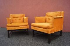 Edward Wormley Dunbar pair of arm chairs - 1200609