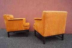 Edward Wormley Dunbar pair of arm chairs - 1200610