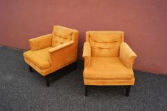 Edward Wormley Dunbar pair of arm chairs - 1200612