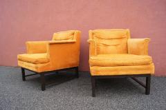 Edward Wormley Dunbar pair of arm chairs - 1200621