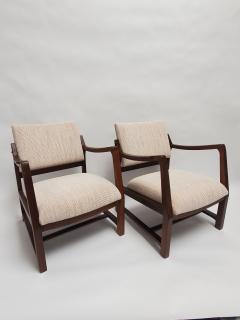 Edward Wormley Ed Wormley Open Arm Chairs for Dunbar - 2075204