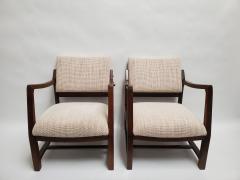 Edward Wormley Ed Wormley Open Arm Chairs for Dunbar - 2075205