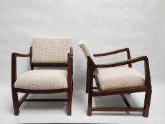 Edward Wormley Ed Wormley Open Arm Chairs for Dunbar - 2075206