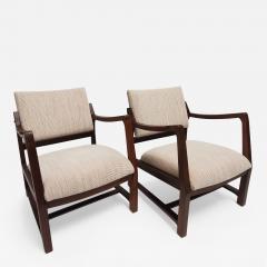 Edward Wormley Ed Wormley Open Arm Chairs for Dunbar - 2075748