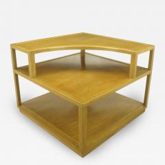 Edward Wormley Edward Wormley Bleached Mahogany Corner Table for Dunbar - 72741