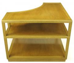 Edward Wormley Edward Wormley Bleached Mahogany Corner Table for Dunbar - 72743