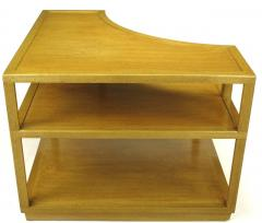 Edward Wormley Edward Wormley Bleached Mahogany Corner Table for Dunbar - 72744