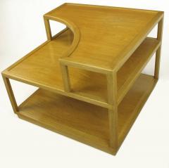 Edward Wormley Edward Wormley Bleached Mahogany Corner Table for Dunbar - 72745