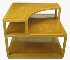 Edward Wormley Edward Wormley Bleached Mahogany Corner Table for Dunbar - 72746