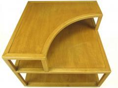Edward Wormley Edward Wormley Bleached Mahogany Corner Table for Dunbar - 72747