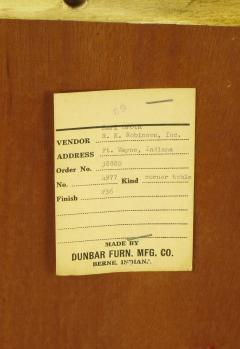 Edward Wormley Edward Wormley Bleached Mahogany Corner Table for Dunbar - 72748