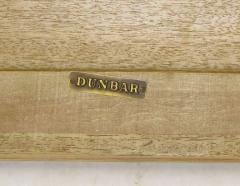 Edward Wormley Edward Wormley Bleached Mahogany Reeded Curule Leg Table - 267339
