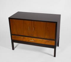 Edward Wormley Edward Wormley Dunbar Cabinet or Nightstand in Walnut Mahogany Brass Dunbar - 1910046