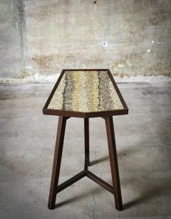 Edward Wormley Edward Wormley Glass Mosaic Top Occasional Table - 390484