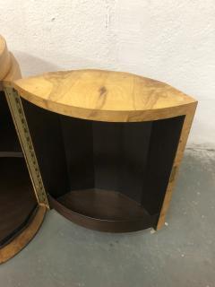 Edward Wormley Edward Wormley Pedestal Bar Cabinet in Olive Burl model 6302D - 2167902